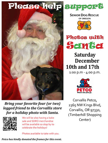 Bring your pets to meet Santa!